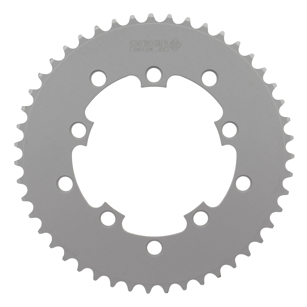 ORIGIN8 BLADE 130mm 5-BOLT 39T SILVER ALLOY BICYCLE CHAINRING