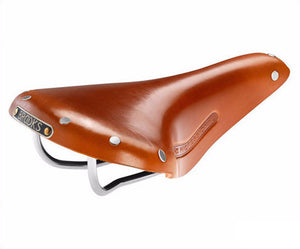 Brooks Team Pro Classic Saddle w/ Tubular Rivets