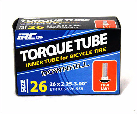 "IRC Torque Downhill / Fat Bike  Mountain Bike 26"" Inch Tubes"