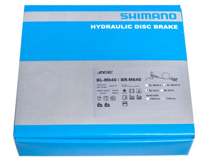 Shimano Zee BR-M640-B Ice Tech Disc Brake Kit