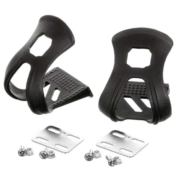 EVO Pedals Strapless Resin Toe Clips