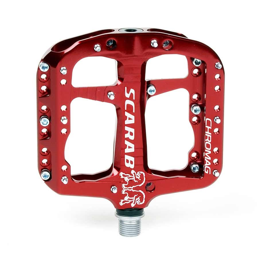 Chromag Scarab Platform pedals Bushing and sealed bearings Aluminium body Silver