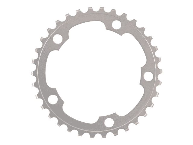 Shimano Tiagra FC-4550 2x9 speed 34T Chainring 110mm BCD Silver
