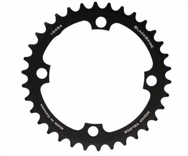 Blackspire Mono Veloce Single Speed ATB Chainrings 4-Arm 104mm Black
