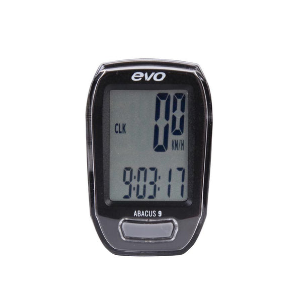 EVO Abacus 9 Function Wireless Cycling Computer
