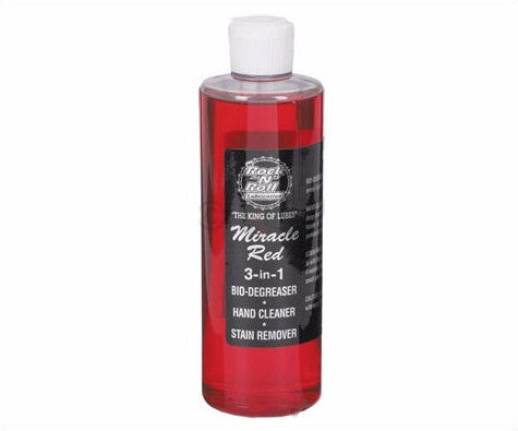 Rock N Roll Miracle Red Bio Degreaser 16oz Bottle