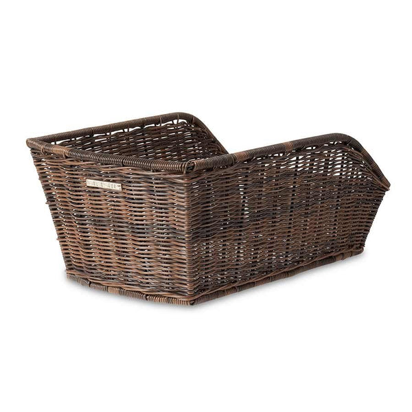 Basil Cento Rattan Look Rear Bike Basket