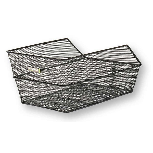 Basil Cento Rear Bike Basket Black Mesh