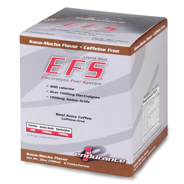 First Endurace EFS Liquid Energy Shot Box of 6