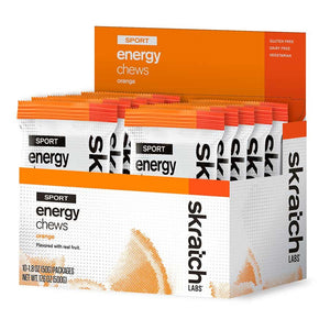Skratch Labs Sport Energy Chews Box of 10 50g