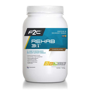 F2C Nutrition Rehab 3:1 Protein Powder Mix 24 Servings
