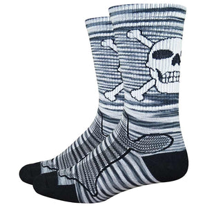 DeFeet Levitator Trail Bonehead Socks 6""