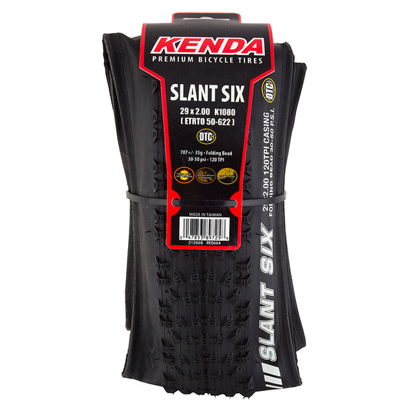 Kenda Slant Six Folding DTC Tire 29""