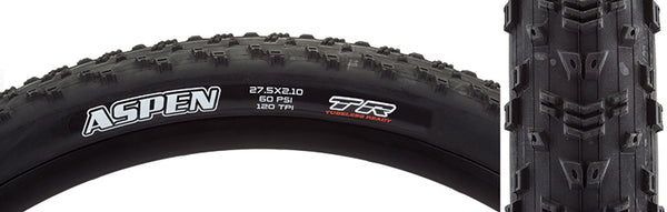 "Maxxis Aspen DC TR Tubeless Folding Tire 27.5 x 2.1 ""Buy 1 Get 1 FREE"""