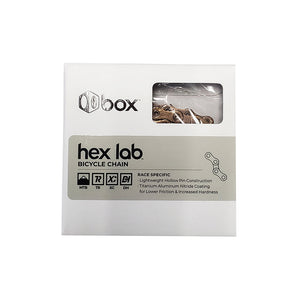 BOX Hex Lab 11 Speed Chain Hollow Pin 126 Links