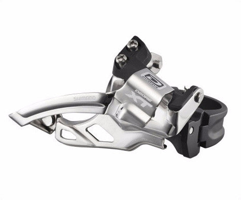 Shimano Deore XT M785 2x10 Front Derailleur Top Swing 10 Speed