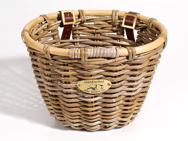 Nantucket Tuckernuck Adult Oval Front Handlebar Bike Basket