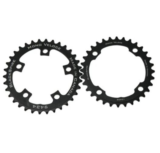 Blackspire Mono Veloce ATB Chainring 5 Arm 94mm 34T Black