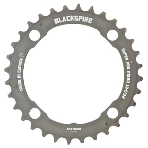 Origin8 Chainring 10H 46T 110//130 Black 1//8