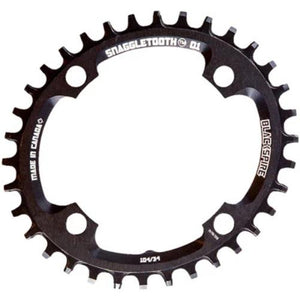 Blackspire Snaggletooth NW Chainring Oval 4 Arm 104mm 9/10/11/12 Speed