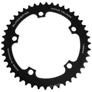 "Blackspire Mono Veloce Fixie Chainring 5 Arm 130mm 3/32"" Black"