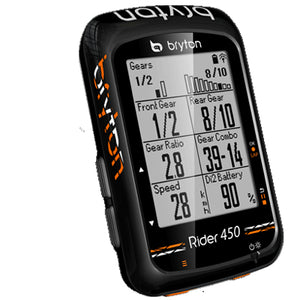 Bryton Rider 450T GPS + HR/Cadence Bundle Cycling Computer