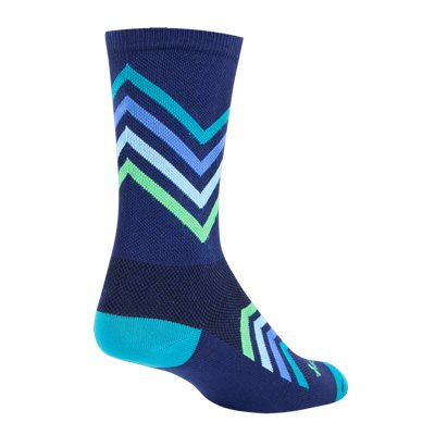 Sock Guy Chevron Socks 6""
