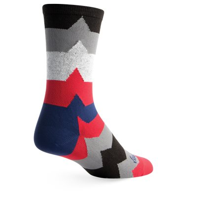 Sock Guy EKG2 Socks 6""