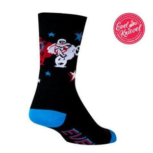 Sock Guy Evel Knievel Legend Socks 6""