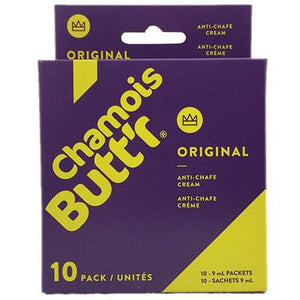 Chamois BUTT'R Original Box of 10 .30oz Packet