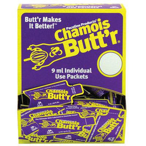 Chamois BUTT'R Original Box of 75 .30 oz. Packet