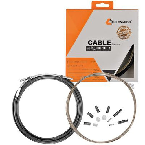 Ciclovation Basic Mountain//Road Bike Brake Cable,Stainless Steel 1.6mm x 3500mm