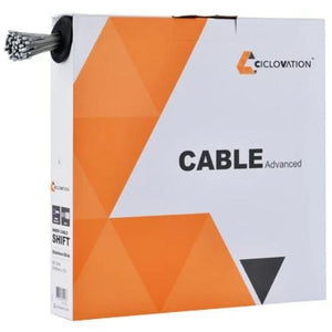 Ciclovation Advanced Shifter Cables Stainless Slick Box of 100