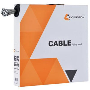Ciclovation Advanced Shifter Cables Slick Zink Box of 100