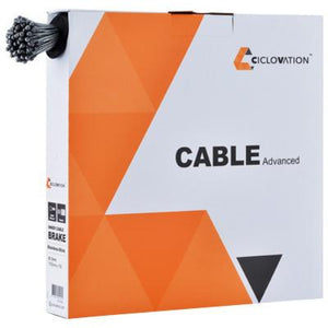 Ciclovation Advanced Brake Cable Stainless Slick Box of 100