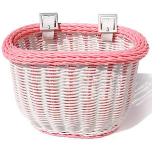 ColorBasket Oval Child Front Bike Basket