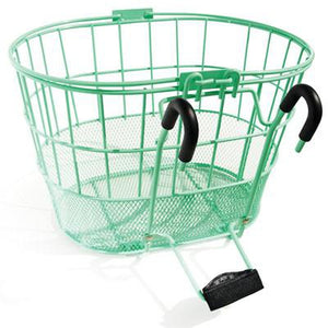 ColorBasket Oval Mesh Bottom Lift-Off Front Bike Basket