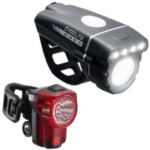 Cygolite Dash 520 & HotShot Micro 30 USB Combo Light Set