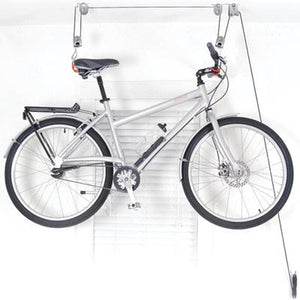Delta El Greco Bicycle Ceiling Hoist Storage Mount Rack 50 lb. Max RS2300