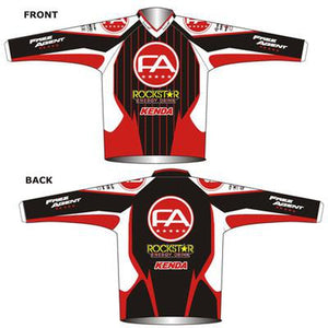 Free Agent Factory Team Design BMX Youth Jersey