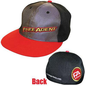 Free Agent BMX Team Hat Fitted