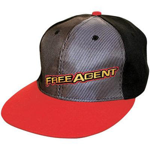 Free Agent BMX Adjustable Snap Back Team Hat