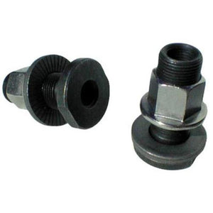 "Free Agent BMX Axle Adapters 3/8"" to 14mm"