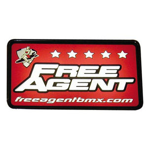 Free Agent BMX Lighted Racing Sign