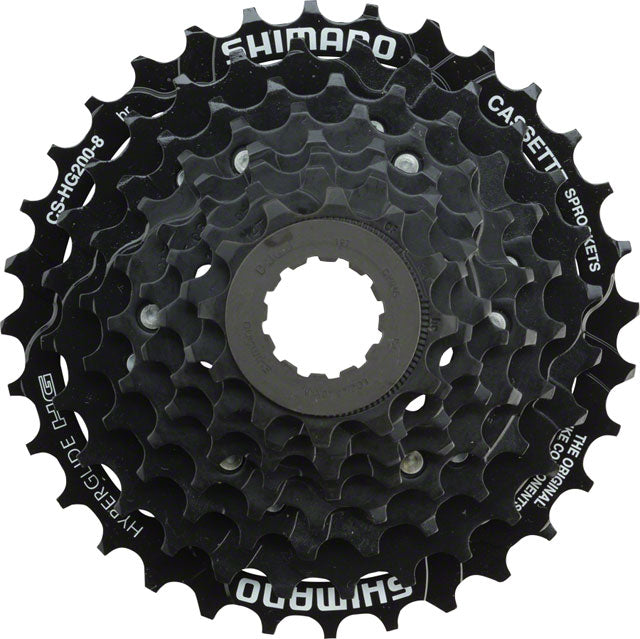 Shimano CS-HG200-8 8 Speed Cassette