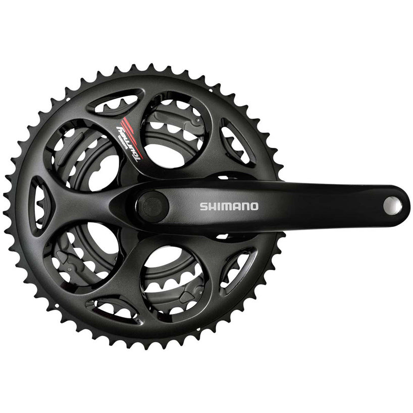 a217b251598 Shimano Tourney FC A073 Crankset 7/8 Speed 50/39/30T 170mm Black