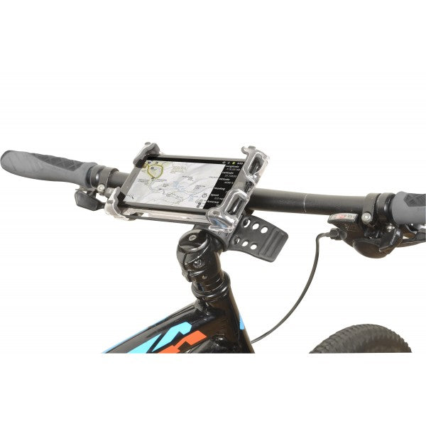 Delta Bike Hefty Phone Holder Plus Bar/Stem Mount