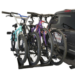Hollywood Destination Hitch Bike Rack Holds 4 Bikes