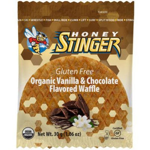 Honey Stinger Organic Gluten Free Energy Waffles 30g Box of 16
