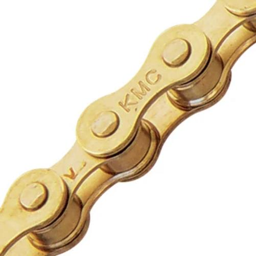 KMC Z1 Bicycle Chain Single Speed 1//2 x 1//8 inch 112L Gold